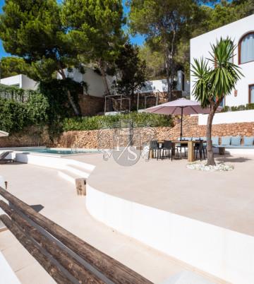 Schönes Haus in der Cala Salada.